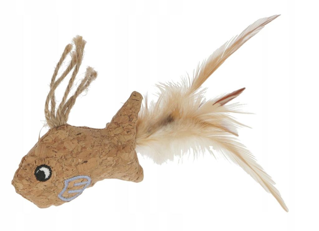 Zabawka dla Kota KERBL Rybka z Korka 21cm