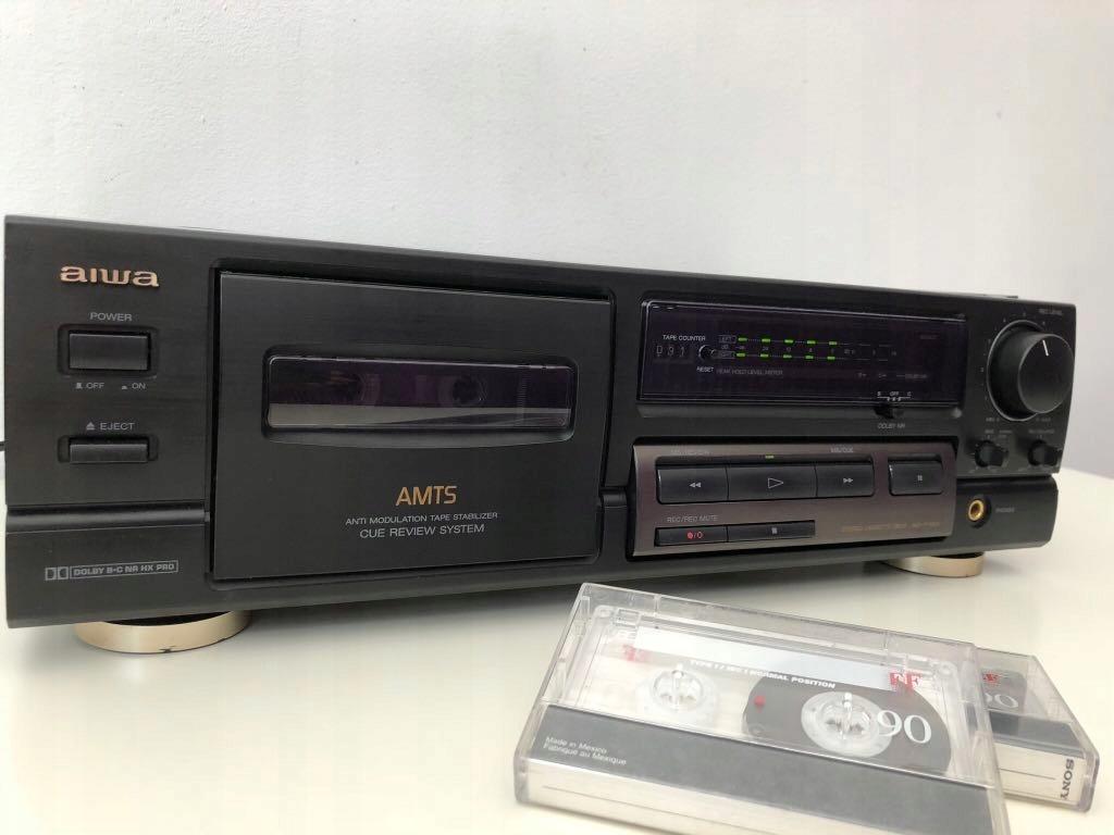 Aiwa AD-F460 serwisowany 100% sprawny +2 kasety