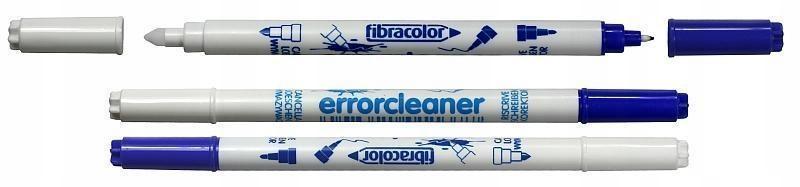 Wymazywacz z korektorem (25szt) FIBRACOLOR