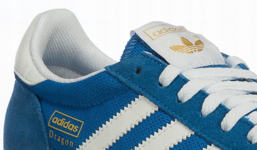 Buty M?skie Adidas DRAGON G50922 Niebieskie r.40.5
