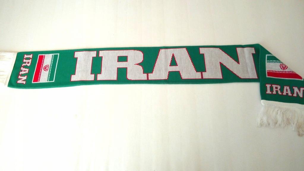 SZAL KIBICA DZIANY-IRAN - DWUSTRONNY