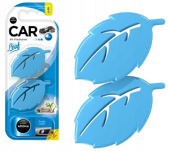 Odświeżacz powietrza AROMA CAR LEAF 3D FRESH LINEN