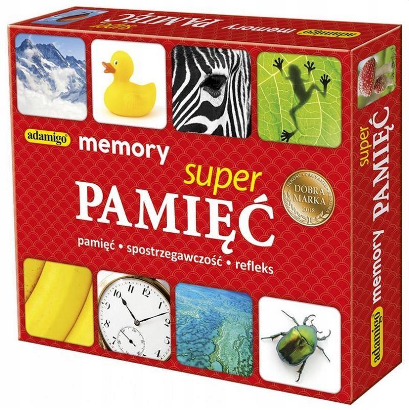 SUPER PAMIĘĆ - MEMORY, ADAMIGO