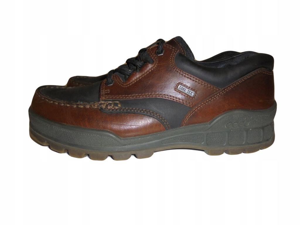 Skórzane buty Ecco Track z Gore-tex. Rozmiar 43.