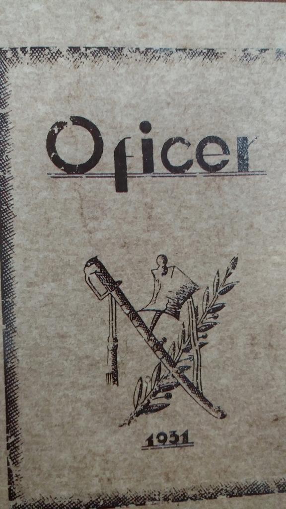 OFICER 1931