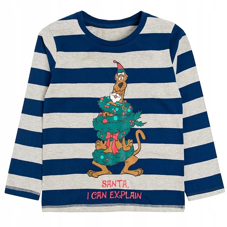 COOL CLUB Bluzka w Paski Scooby Doo