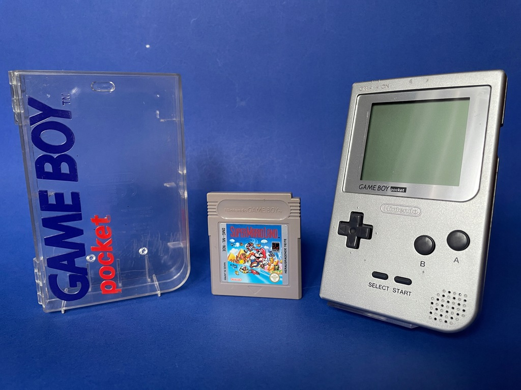 Nintendo Game Boy Pocket + PUDEŁKO + MARIO