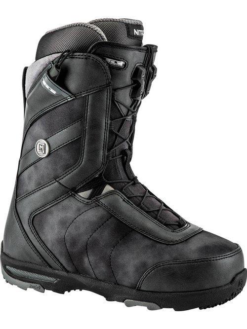 Buty NITRO MONARCH TLS snowboardowe czarne 41 1/3