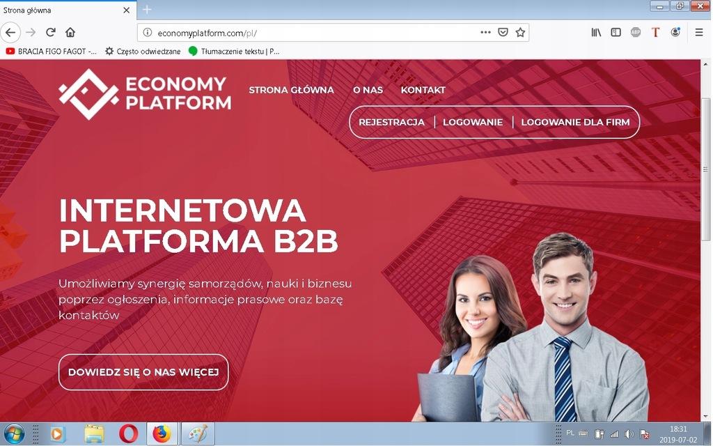Portal internetowy, Serwis ogłoszeń, Strona WWW