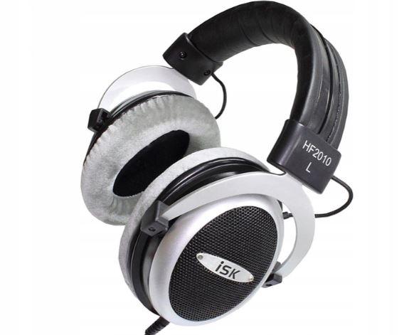Słuchawki nauszne półotwarte ISK HF2010 przewodowe