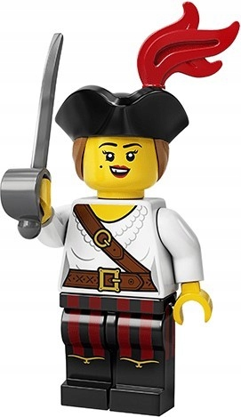 LEGO 71027 Piratka Pirat NOWE nienacinane