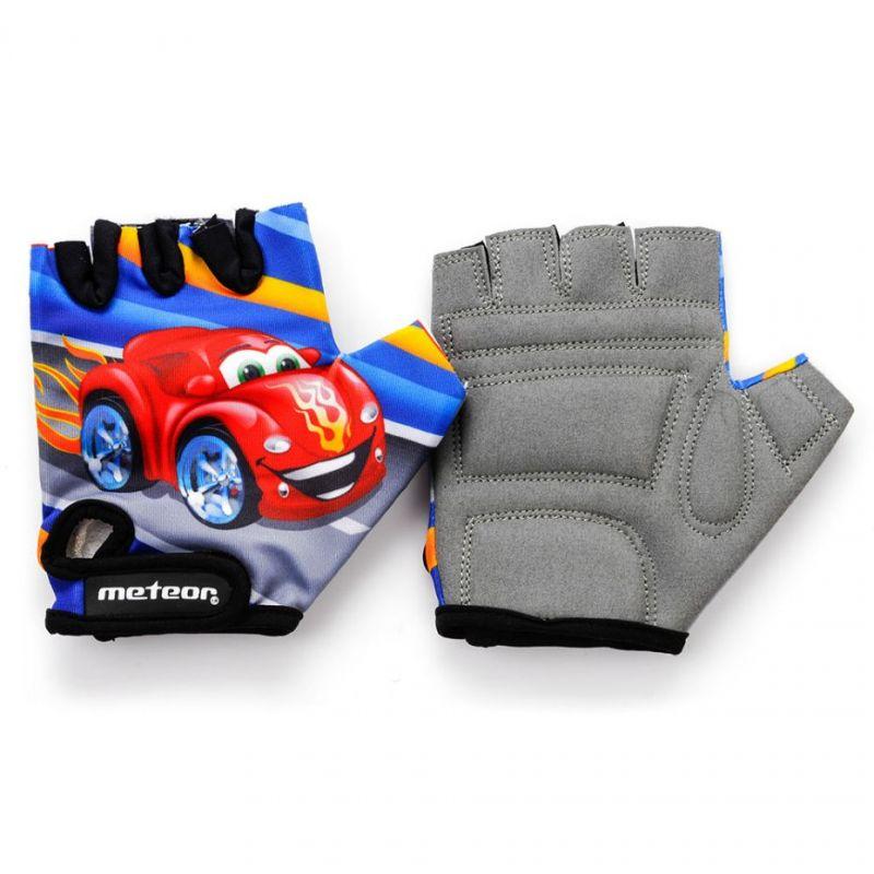 Rękawiczki rowerowe Meteor Jr Auto CM 23384-23385