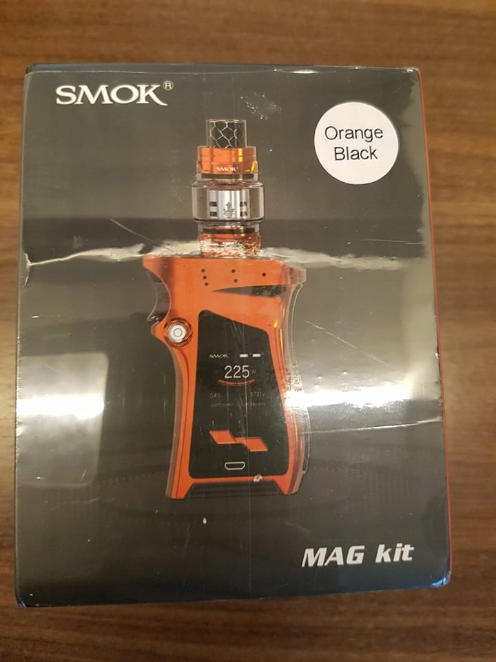 Smok Mag Kit 225w Tfv12 Prince 8 0ml 2x 18650 8539232299 Oficjalne Archiwum Allegro