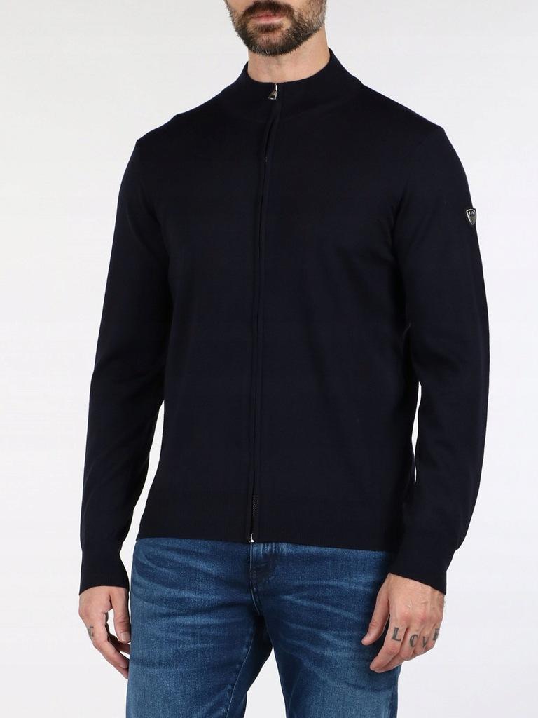 EMPORIO ARMANI włoski sweter cardigan NOWOŚĆ XL