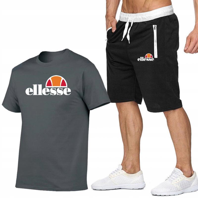 T-shirt GRAFITOWY + Spodenki Ellesse R XL MPA STYL