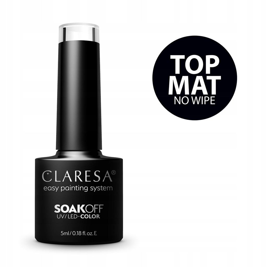 TOP MAT No Wipe CLARESA 5 ml