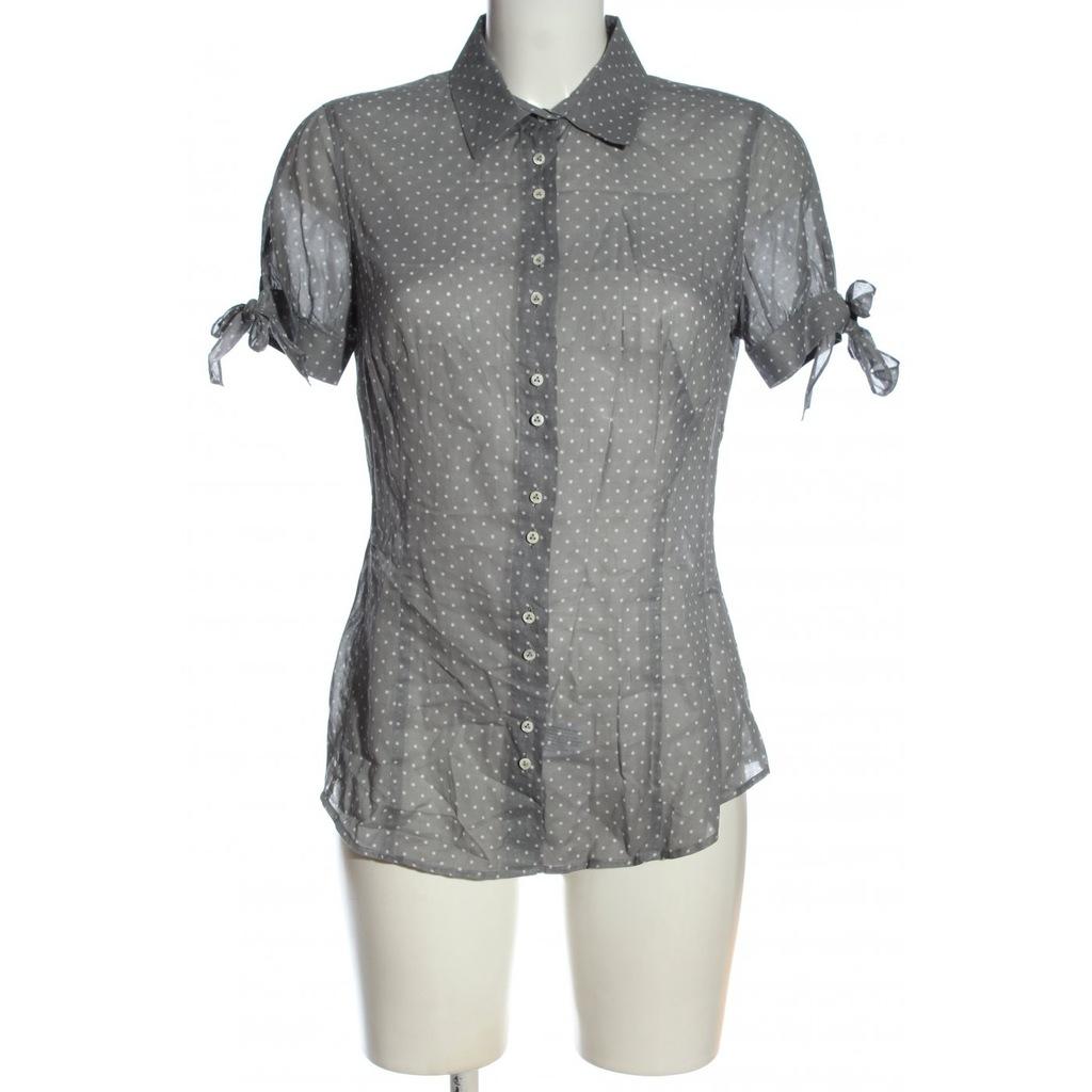VAN LAACK Koszulowa bluzka Rozm. EU 38 jasnoszary
