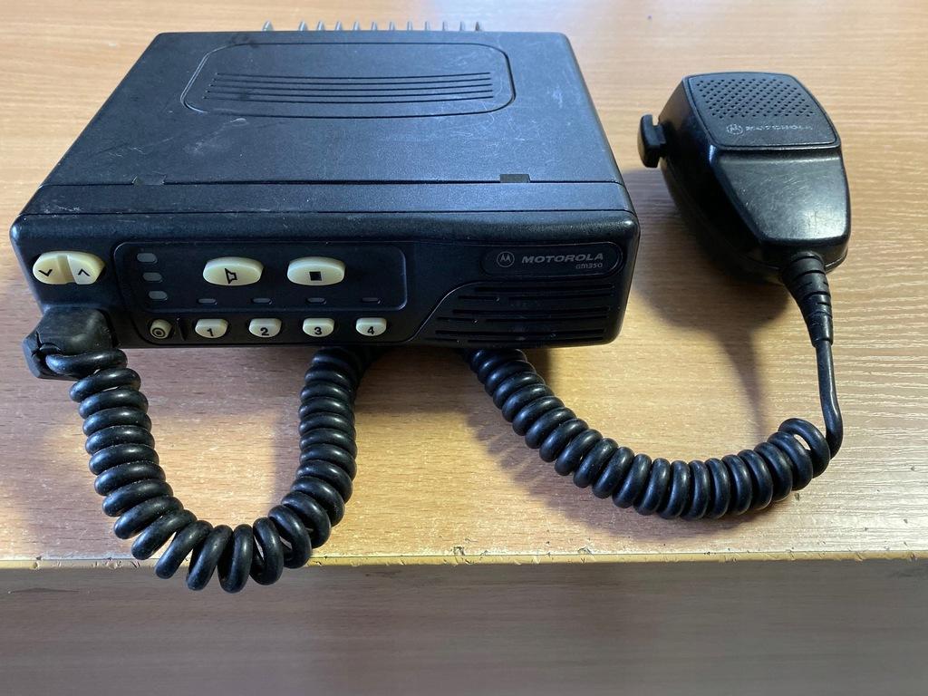 RADIOTELEFON MOTOROLA GM350 4 kan 403-470 MHz
