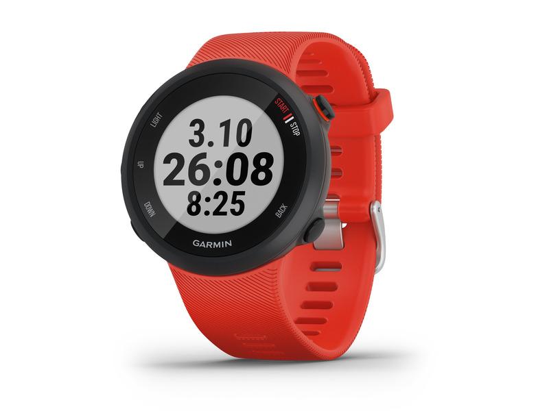 OUTLET Czerwony Zegarek GARMIN FORERUNNER 45 GPS