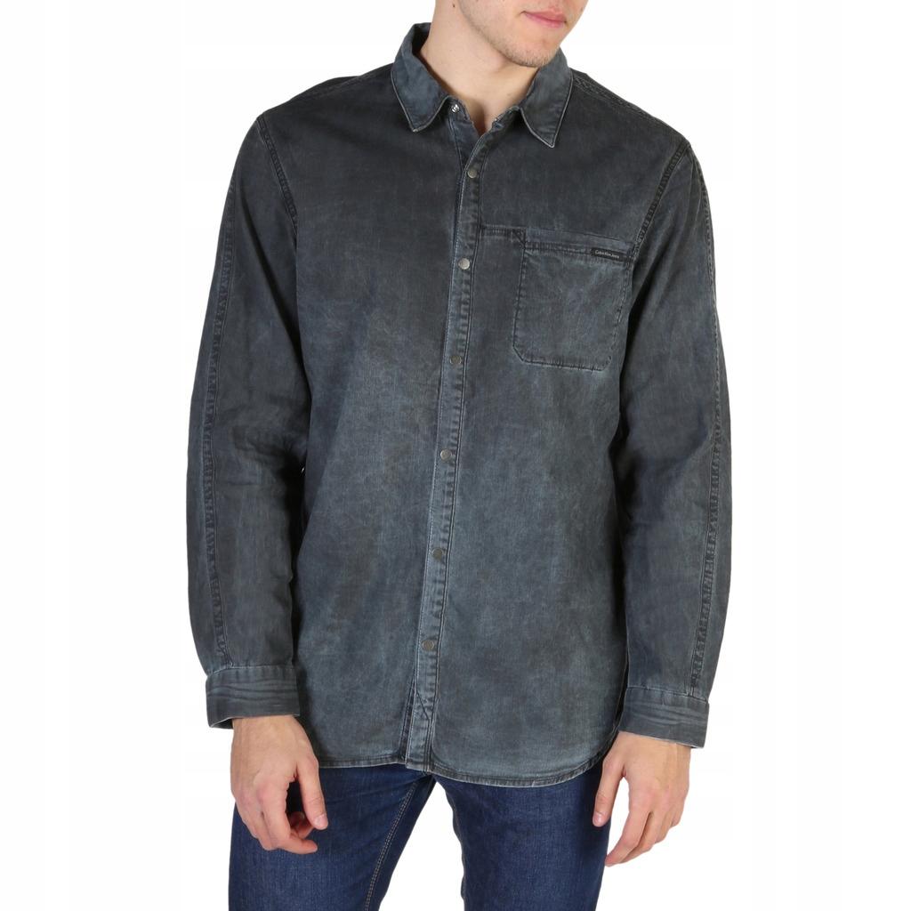 Calvin Klein koszula męska szary XL
