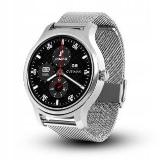 Smartwatch Overmax Touch 2.6 bransoleta srebrny