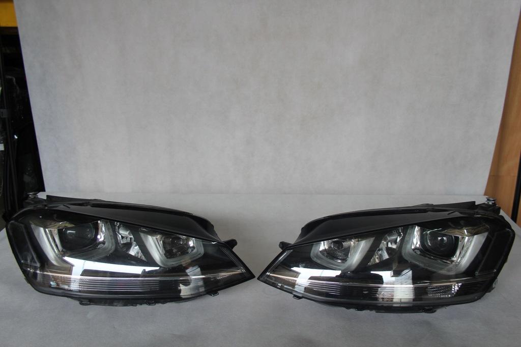 LAMPY PRZÓD VW GOLF 7 5G1941033 5G1941034 - 7911397125 - oficjalne archiwum Allegro
