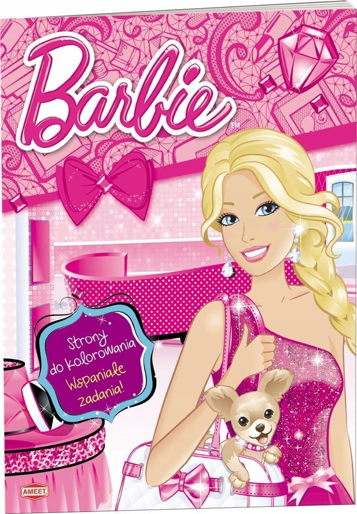 Barbie. Strony do kolorowania