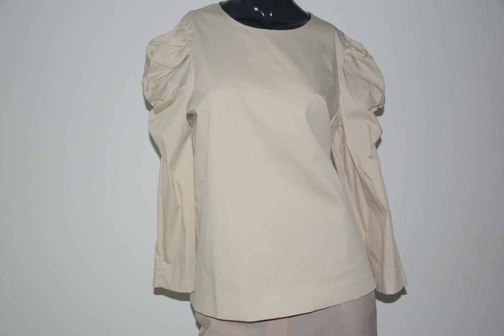 cos beżowa bluzka bawełna r. 36/S
