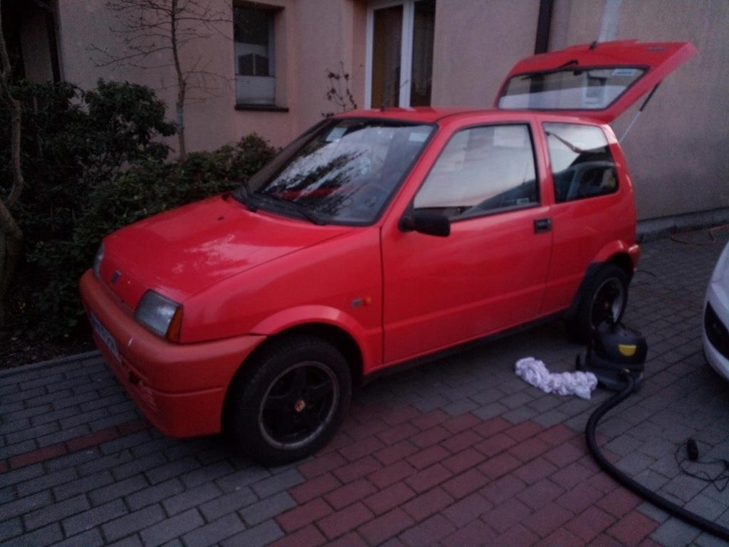 Fiat Cinquecento '94r. Opłacony! Sprawny!