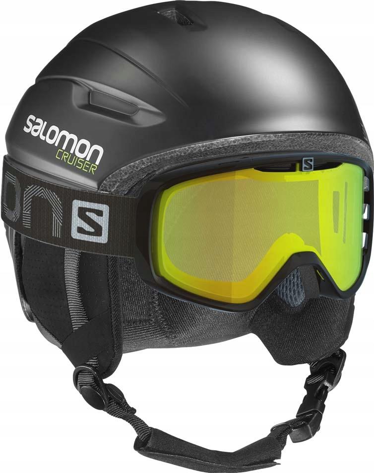 Kask narciarski Salomon CRUISER 4D SMU White