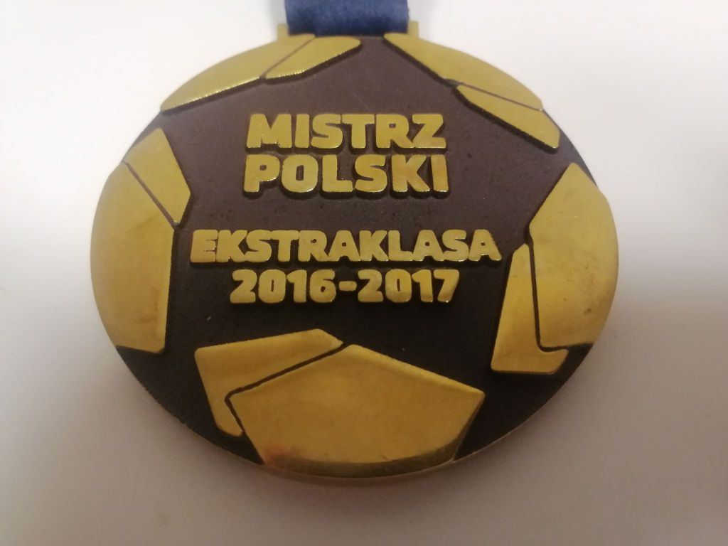 Legia Warszawa - medal za Mistrzostwo Polski 2017