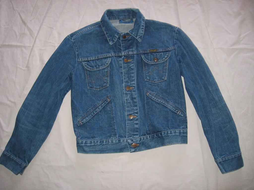 kurtka katana jeansowa dżinsowa jeans Wrangler 40