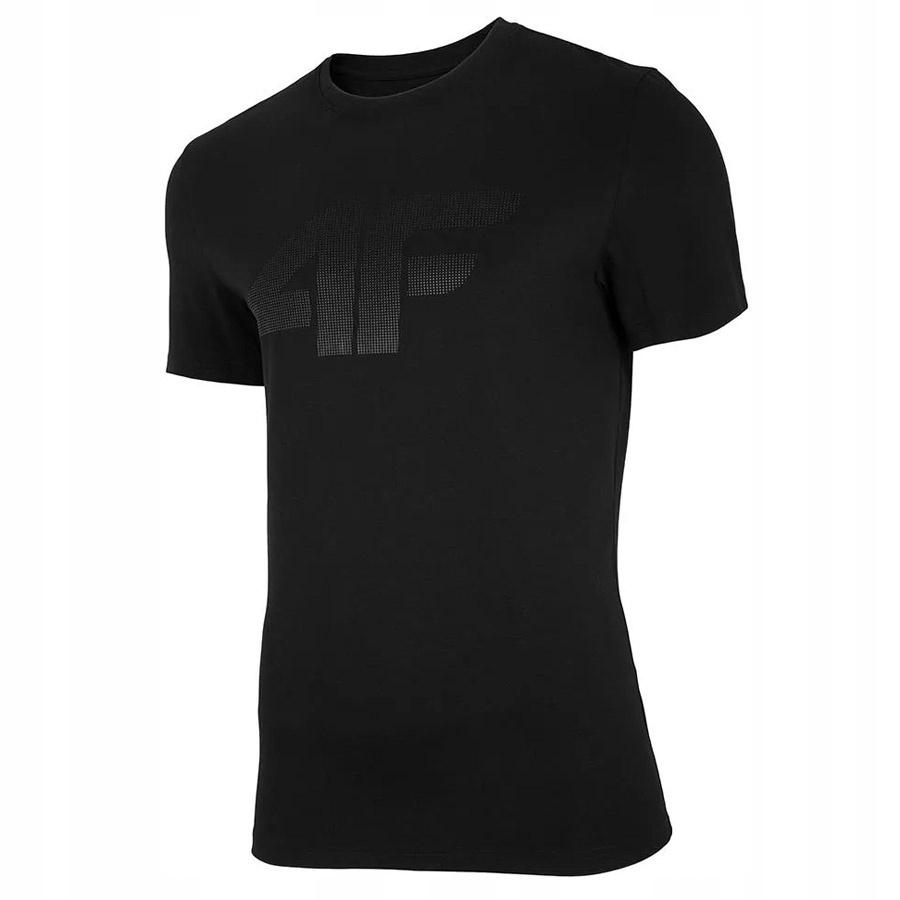 T-Shirt 4F NOSH4-TSM004 20S czarny M!