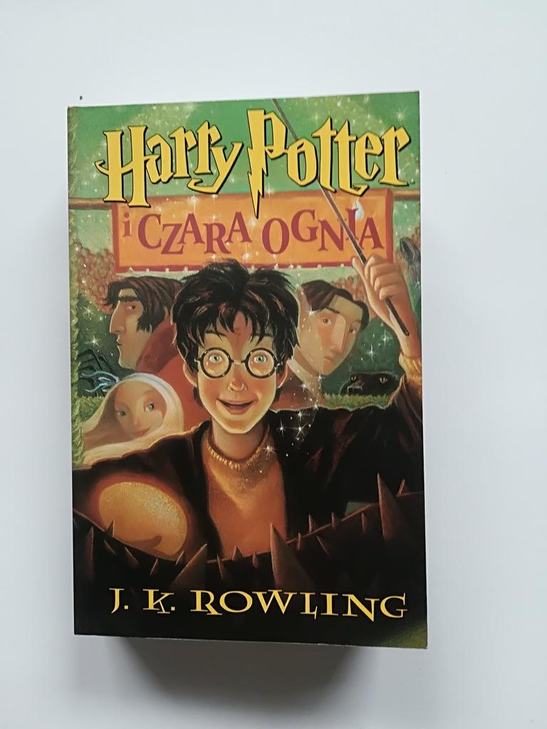 Harry Potter I Czara Ognia Joanne K Rowling Bd 7394526741 Oficjalne Archiwum Allegro