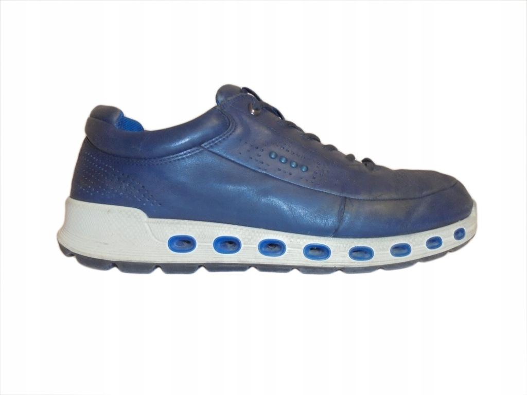 Skórzane buty firmy Ecco z Gore-tex. Rozmiar 44.