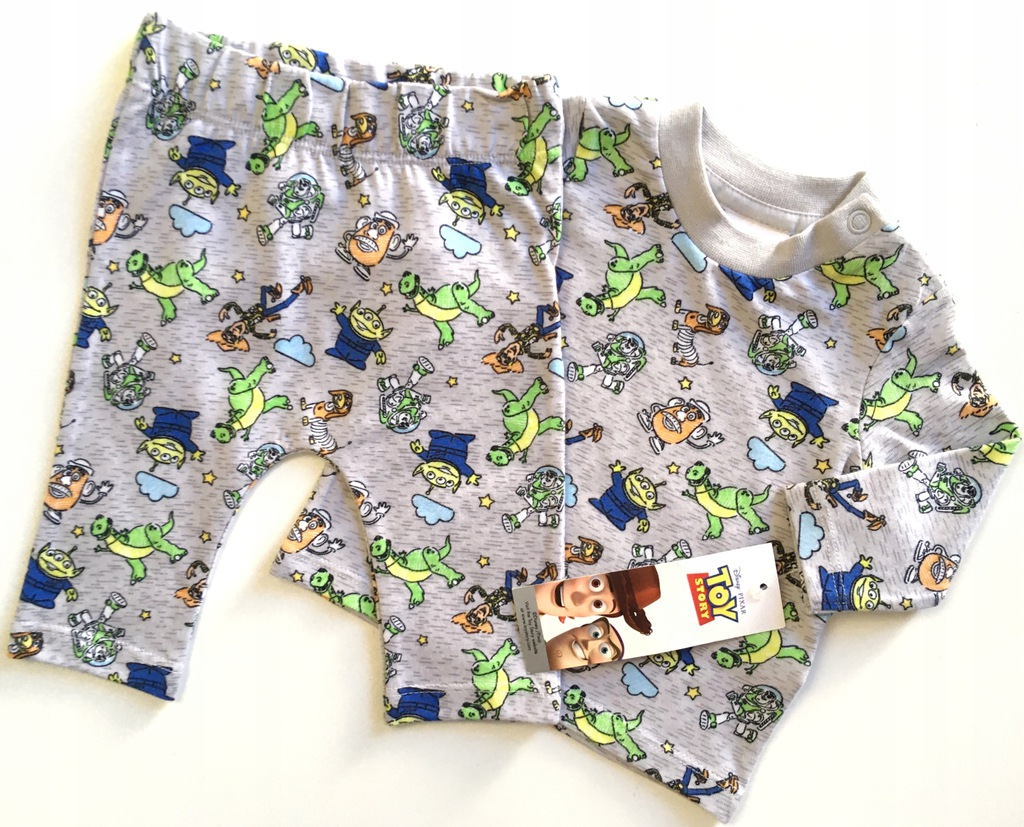 F&F TOY STORY noworodek bluzka spodnie 50 3,4k