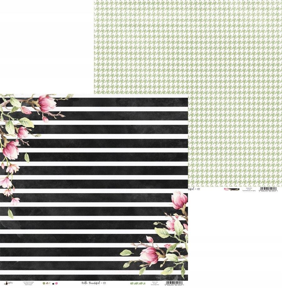 Papier 30x30 - Hello Beautiful 01