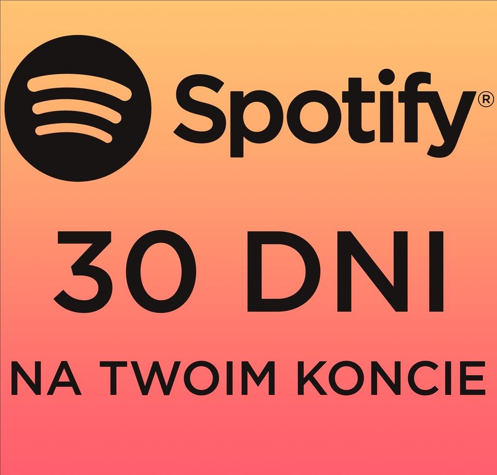 Spotify Premium 30 Dni Na Twoim Koncie Automat 9966553696 Oficjalne Archiwum Allegro