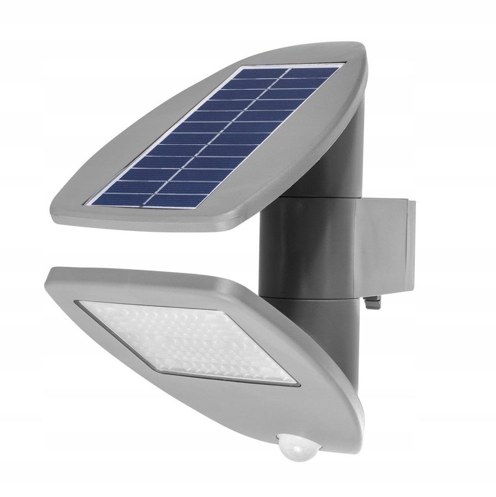 Solarna lampa ścienna z czujnikiem ruchu GreenBlue