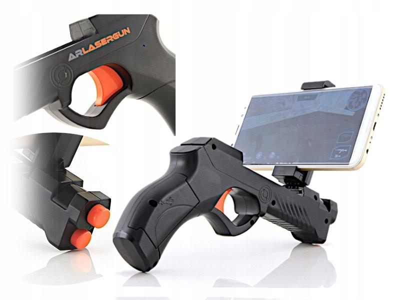 Zabawka dla dziecka pistolet bezprzewodowy GRA 3D