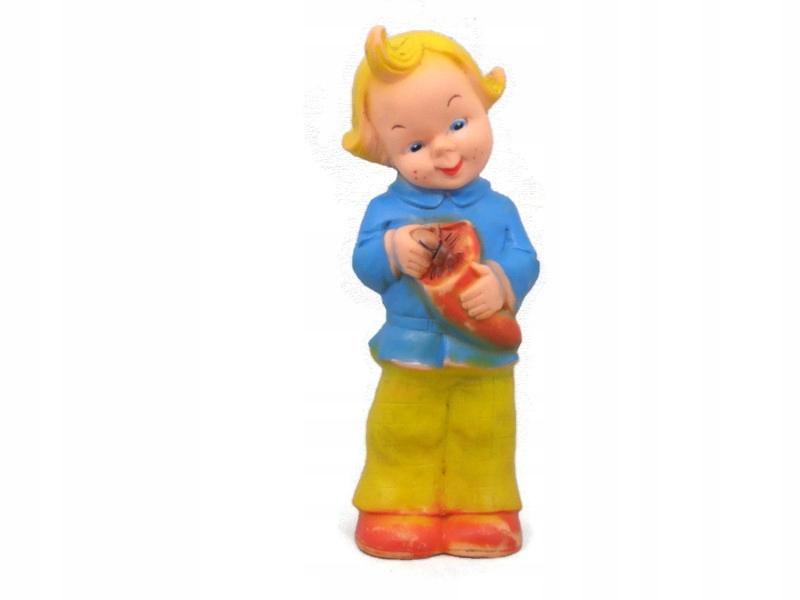 Gumowa lalka - zabawka !