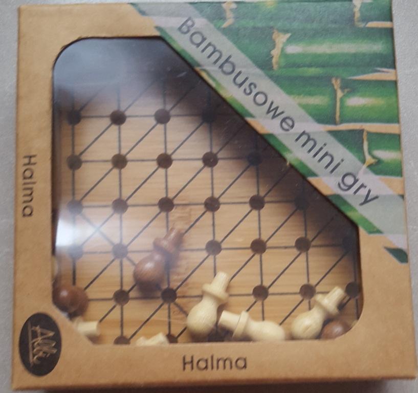 Gra bambusowa mini - Halma
