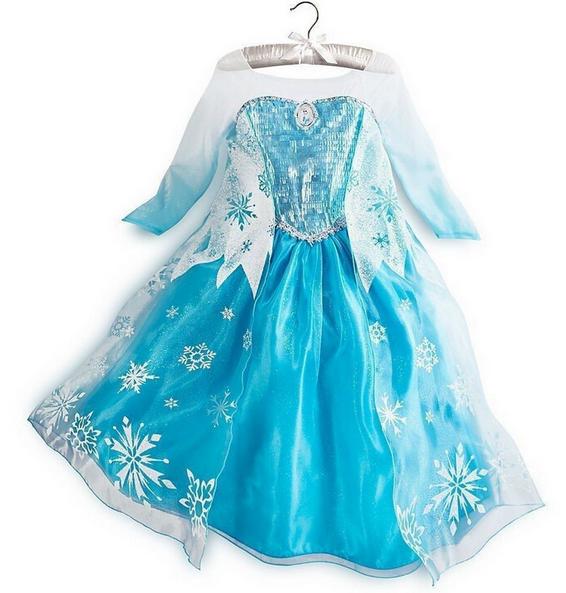 Strój Księżniczki Sukienka Dziewczynki 130 9 Lat 7680620629 Oficjalne Archiwum Allegro
