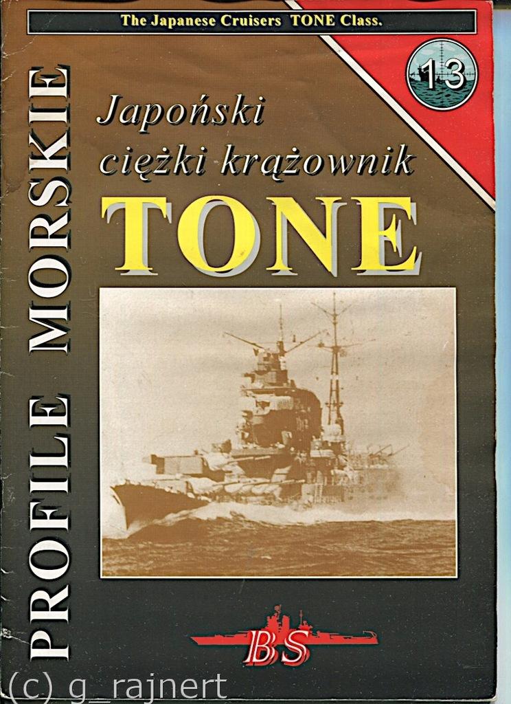 PM Profile morskie Japoński krążownik Tone stan