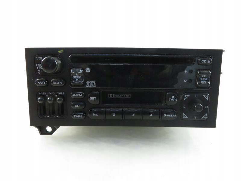 RADIO DODGE CARAVAN III P04704383AF