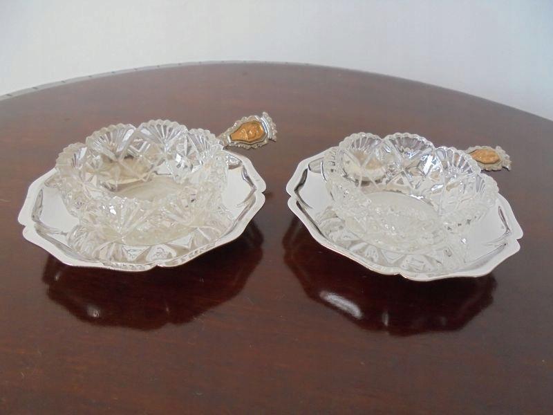 Paterki wkłady szklane solniczka i pieprzniczka