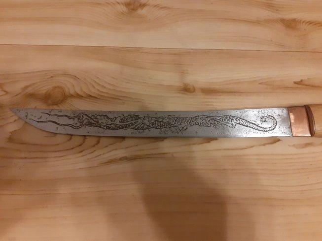 Miecz Tanto w formie Kozuka XIX wiek + Figurki