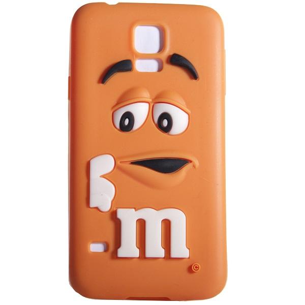 Etui 3d M M S Pomaranczowy Samsung Galaxy S5 6683136166 Oficjalne Archiwum Allegro