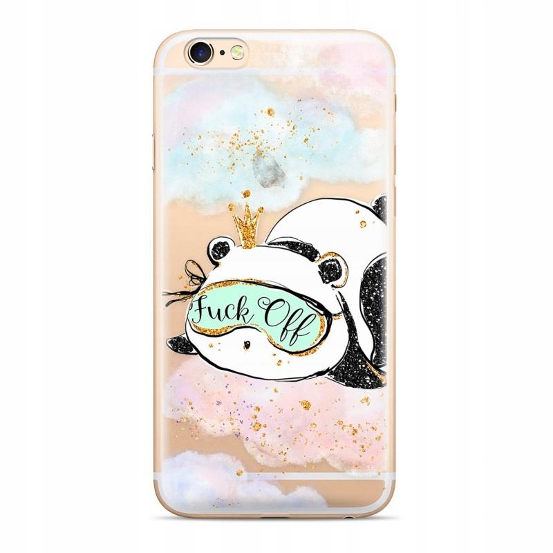 ETUI NADRUK SAMSUNG A9 Panda 001 CZĘŚCIOWY Przeź