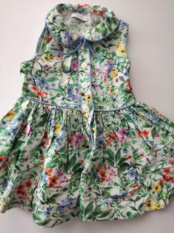 NEXT śliczna sukienka w kwiaty_ 80